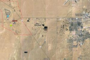 10.1 AC Lot in Inyokern zoned as a mobile home park